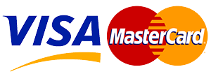 Logo Kreditkarten Visa & Mastercard