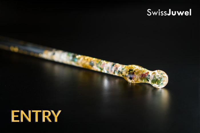 SwissJuwel Edelsteinstab Entry