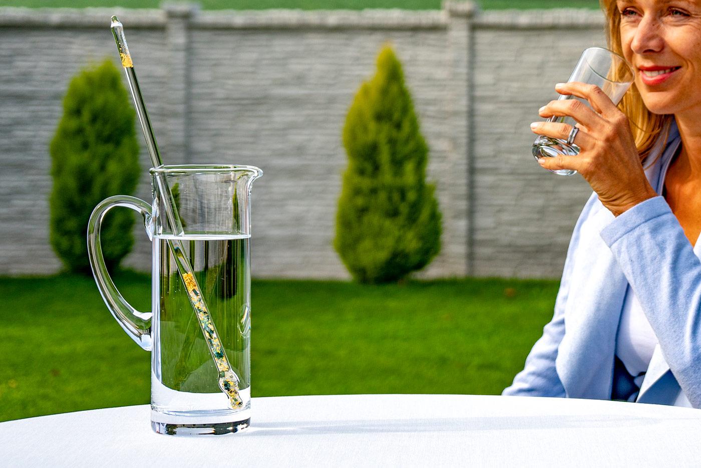 Wasserbelebung mit Edelsteinen